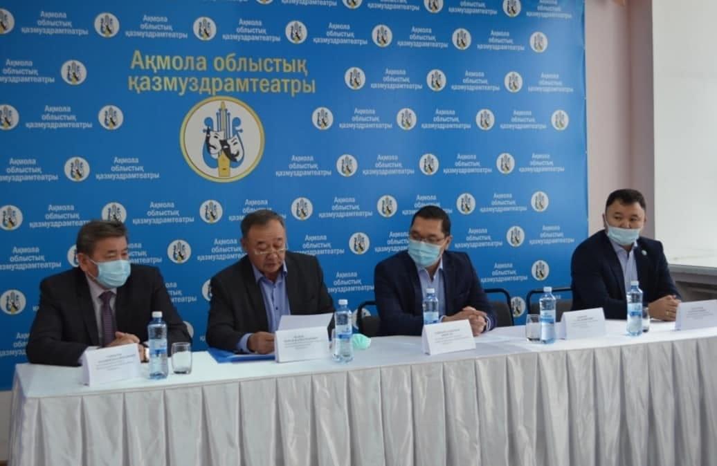 Очередное заседание Совета Акмолинского областного филиала Казахстанского отраслевого профсоюза работников здравоохранения