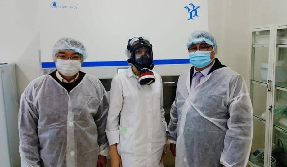 КОПРЗ продолжает доставлять шлем - маски медицинским работникам регионов Казахстана