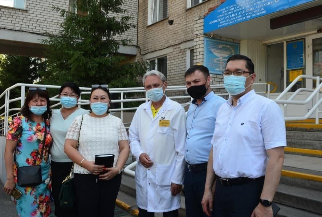 Рабочая поездка в медицинские организаций регионов Северо-Казахстанской и Акмолинской областей