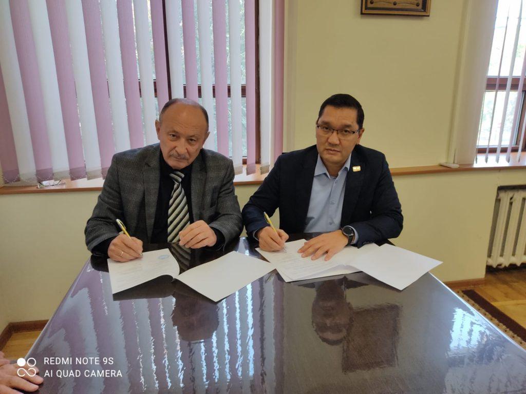Сегодня состоялась встреча КОПРЗ «AQNİET» с Казахстанской Конфедерацией Труда