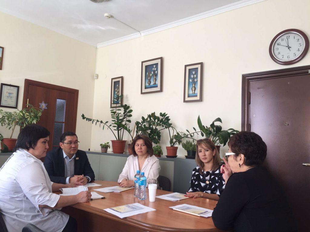 29 сентября состоялся визит председателя КОПРЗ «AQNİET» Б. Тажибай в Жамбылскую область